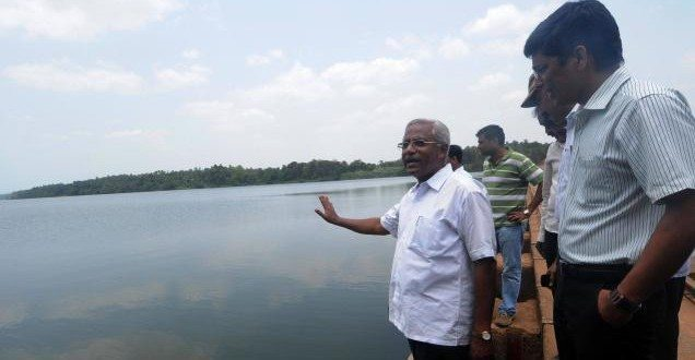 Lobo hints at dropping contractor of Thumbe dam