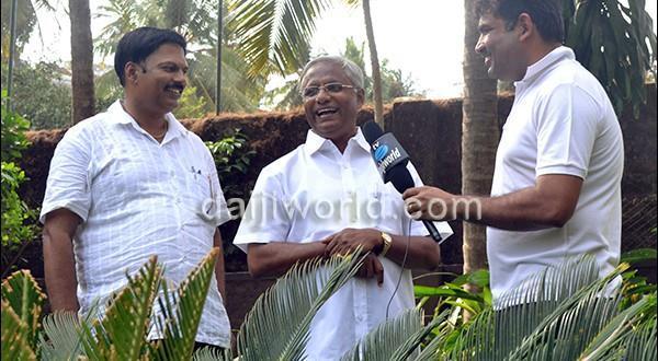 Rebuilding the dented image of Mangalore my priority J R Lobo