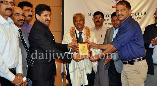J R Lobo interacts with Mangalorean community in Qatar