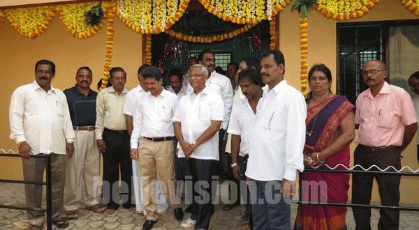 Mlore MLA J R Lobo inaugurates refurbished Bldg of Mlore Coastal Fishermen's Multipurpose C