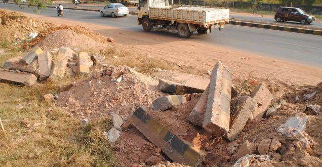 MCC begins to clear city of concrete debris