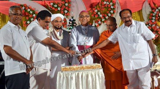 Mangalore MLA J R Lobo Holds Christmas and New Year Celebration 'Sauharda Sambhrama'