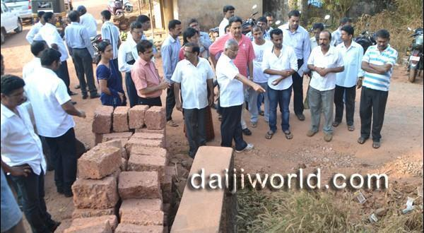 Mangalore Relief for Shaktinagar residents as concreting work resumes