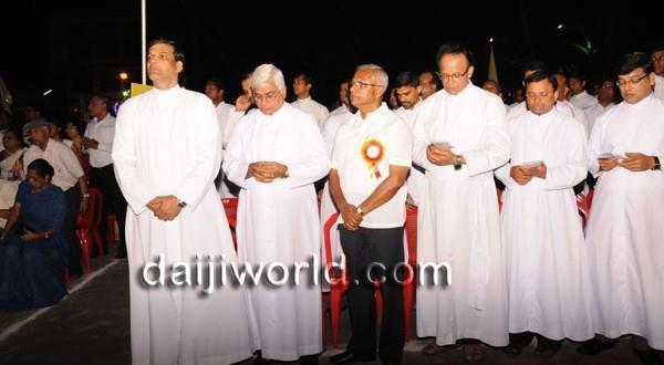 Mangalore Thousands participate in annual Eucharistic procession