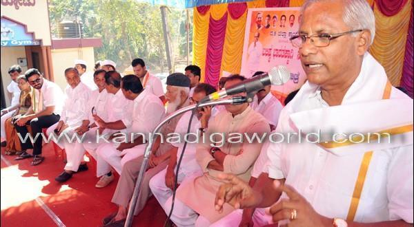 District in-charge Minister flags off Congress Padayatra from Tokkottu to Kulur