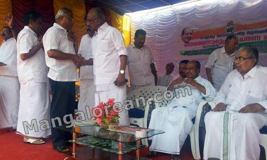 Kasargod MLA J R Lobo Visits Manjeshwar-Participates in Lok Sabha Election Campaign