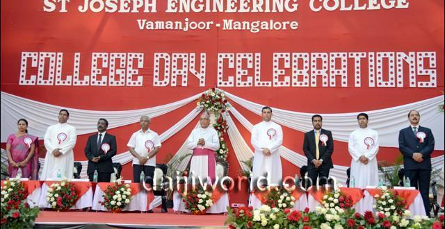 Mangalore Budding engineers advised to work hard at SJEC annual day