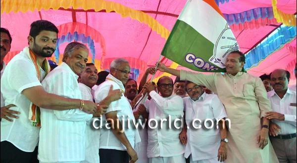 Mangalore Congress takes out padayatra for 'building strong nation'