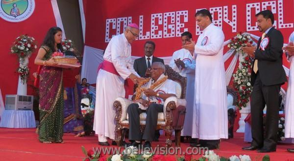 Mangalore MLA J R Lobo advises budding engineers to work hard at SJEC annual day