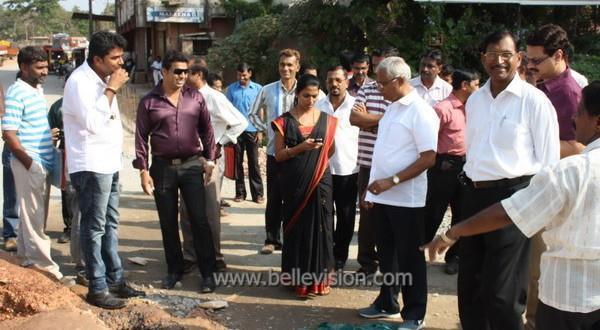 Mangalore MLA J R Lobo checks monsoon preparedness from Pumpwell to Netravati Bridge