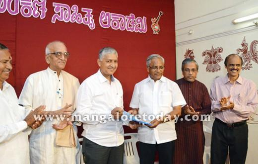 Roy Castelino, new President of Konkani Sahitya Academy takes charge