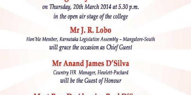 St. Joseph Engineering College, Vamanjoor, Mangalore TIARA-2014