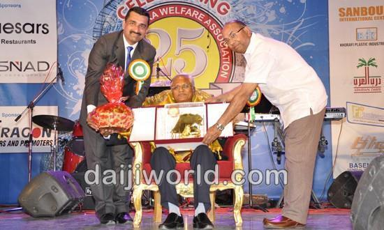 Kuwait Ronald Colaco bestowed 'Konkan Kunvor' at KCWA silver jubilee