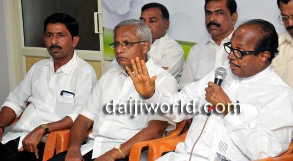 Mangalore Janardhan Poojary responds to BJP's complaints to EC