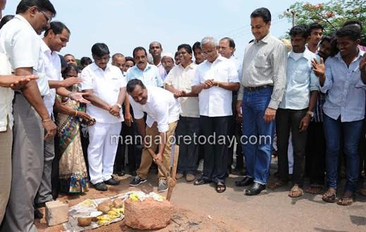 Foundation laid for Ullal-Maani Highway widening project