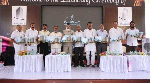 Mangalore Foundation stone laid for Presidency Lifestyle residential complex