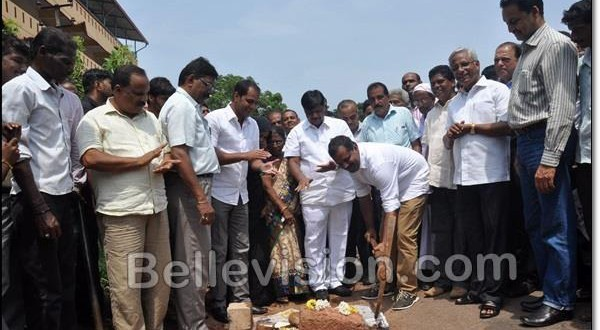 Mangalore PWD Minister lays foundation to widen Ullal-Mani Linking Road