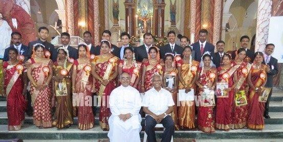 Mangalore Twentyone couples marry in mass wedding