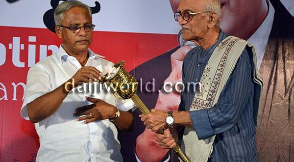 Mangalore Melwyn Peris Centenary Musical Nite - Muhurtham of DVD shooting held