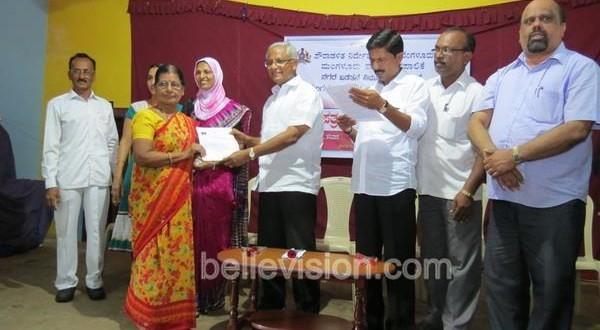 Mangalore RTCs Distributed to 49 families of Neeti Nagar, Padavu Village