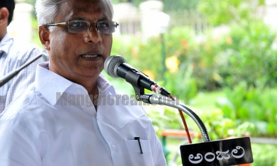 Mangalore: Bursting Crackers on URA's Death an Insult to Entire Country - MLA J R Lobo