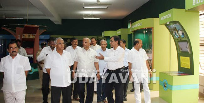 3D planetarium will be set up at a cost of Rs.24.50 crore: S.R Patil