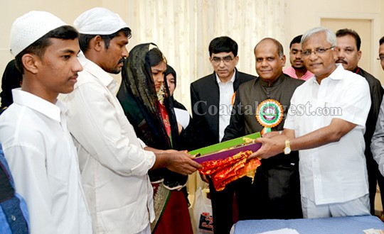 Mangalore: 17 couples enter marital life at BWF mass marriage