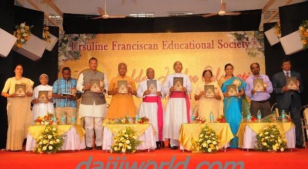 Mangalore: Ursuline Franciscan Education Society celebrates golden jubilee