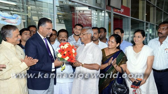 Mangalore-Kuwait Air India resumes operation from today.