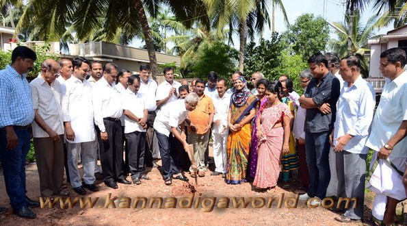 MLA J R Lobo launches various developmental programmes during Deepavali.