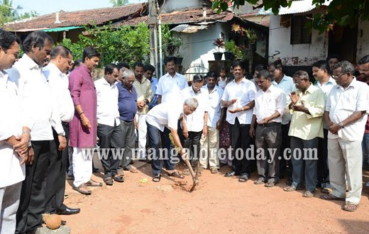 MLA J.R. Lobo lays foundation for Rs 2.31 cr worth road development projects