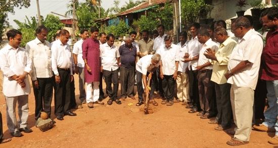 Mangalore: MLA Lobo Lays Foundation for Development of Urban Areas