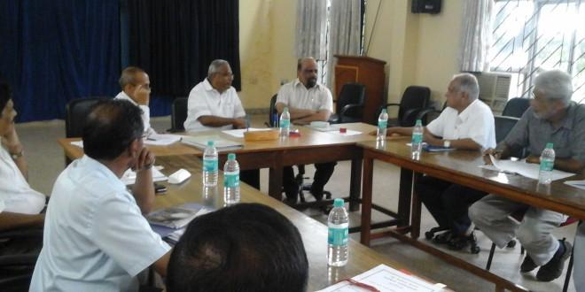 MLA J.R LOBO in Administrative Meeting at Pilikula.