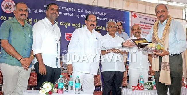 Focus on making DK Healthy District: Moily