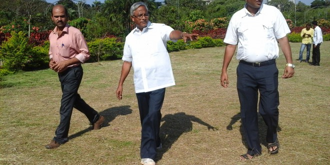 MLA Sri J.R LOBO Visited the Kadri Park