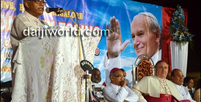 Mangaluru: Apostolic Nuncio inaugurates St John Paul II Shrine at Bajpe
