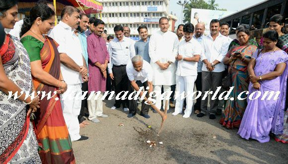 Up-gradation work of stretch from Ambedkar Circle to Bunts Hostel Circle begins today