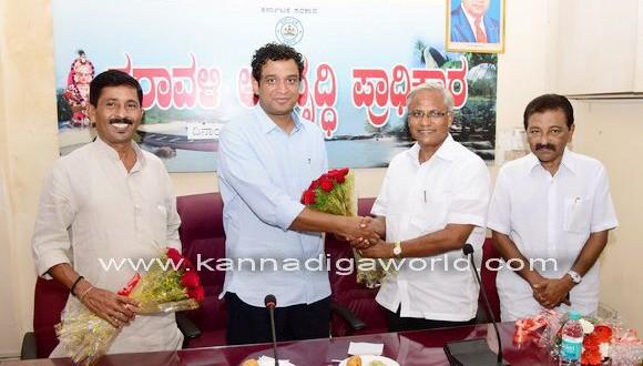 Nivedith Alva obtains,as CDA chairman.