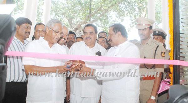 Home Minister K J George inaugurates Police Canteen and Police Samudaya Bhavan at Mangaluru.