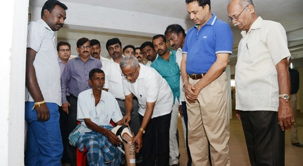 Mangaluru: Differently abled persons given free aid, appliances