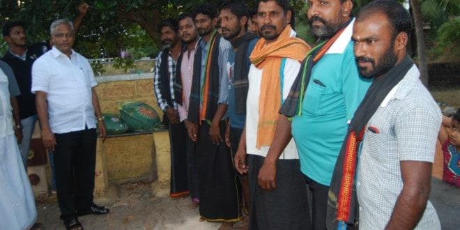 ಅಯ್ಯಪ್ಪ ಸ್ವಾಮಿಯ ಭಕ್ತಾದಿಗಳ ಶಿಬಿರಕ್ಕೆ ಭೇಟಿ