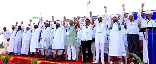 Mangaluru: SKSSF forms human chain on Republic Day