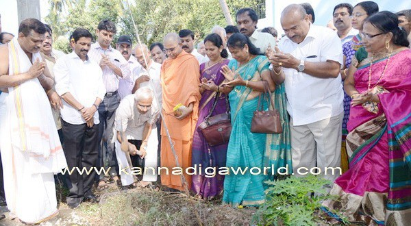 Gujjarkere lake development project inaugurated by MLA J R Lobo