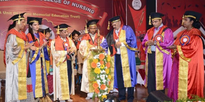 Mangaluru: Graduation Day at Laxmi Memorial College of Nursing