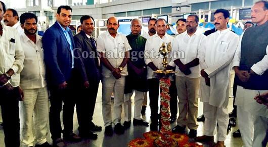 Mangaluru-Abu Dhabi Jet Airways direct flight takes off