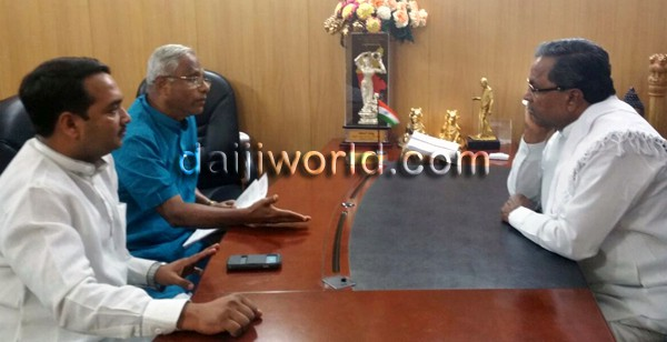 Mangaluru: J R Lobo meets CM, seeks action on kidnap of nun, end to moral policing