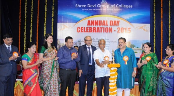 Mangaluru: Shree Devi Group of Colleges celebrates annual day at Loyola Hall