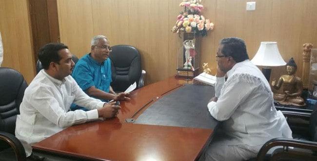 MLA Lobo meets CM, seeks action against moral policing