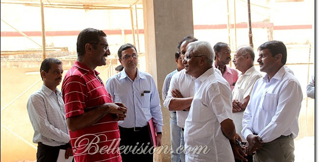 Mangaluru: MLA Lobo & DC Ibrahim review progress of building new Lady Goschen Hospital