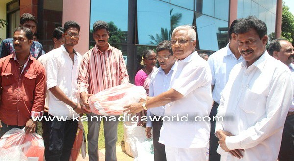 Ambedkar Jayanthi observed at Mangaluru.
